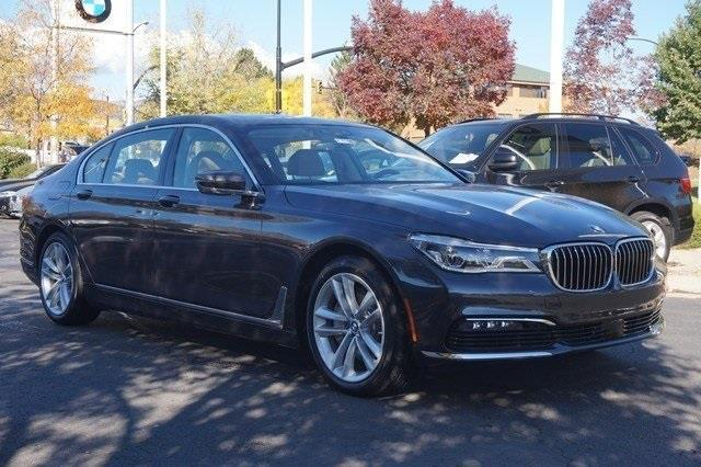 2017 BMW 7 Series 750i xDrive AWD 750i xDrive 4dr Sedan