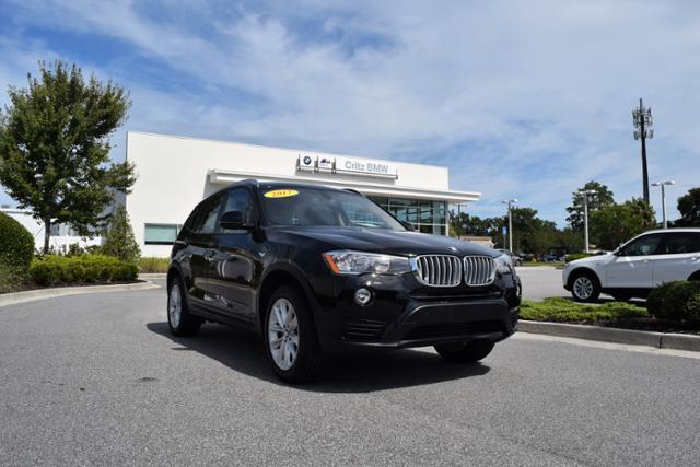 2017 bmw x3 sdrive28i sdrive28i 4dr suv for sale in savannah georgia classified. Black Bedroom Furniture Sets. Home Design Ideas