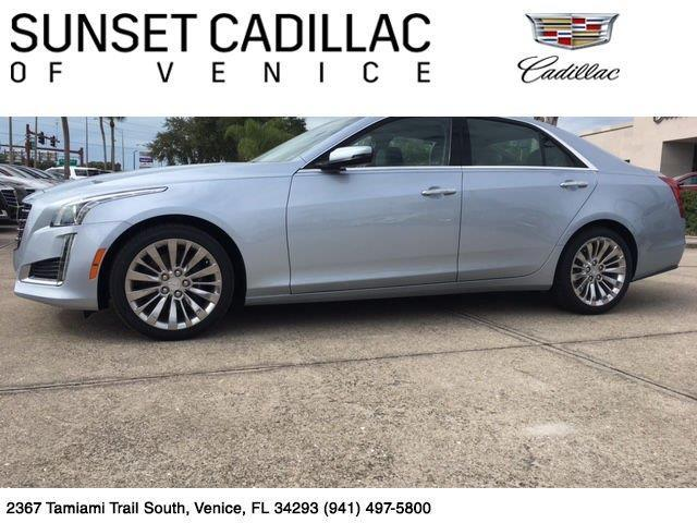 2017 Cadillac CTS 3.6L Luxury 3.6L Luxury 4dr Sedan