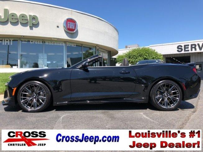 2017 chevrolet camaro zl1 convertible for sale in louisville kentucky classified. Black Bedroom Furniture Sets. Home Design Ideas
