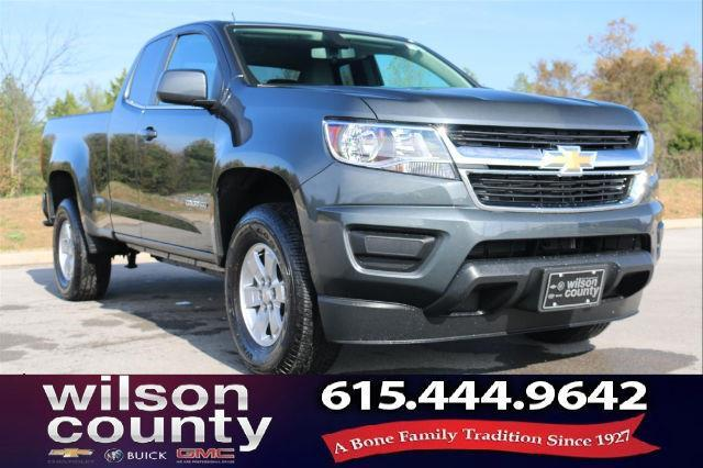 2017 Chevrolet Colorado Work Truck 4x2 Work Truck 4dr