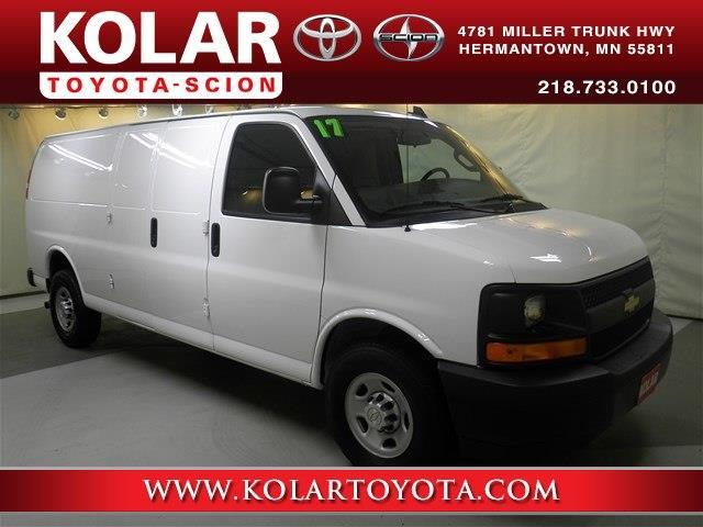 2017 Chevrolet Express Cargo 2500 2500 3dr Extended