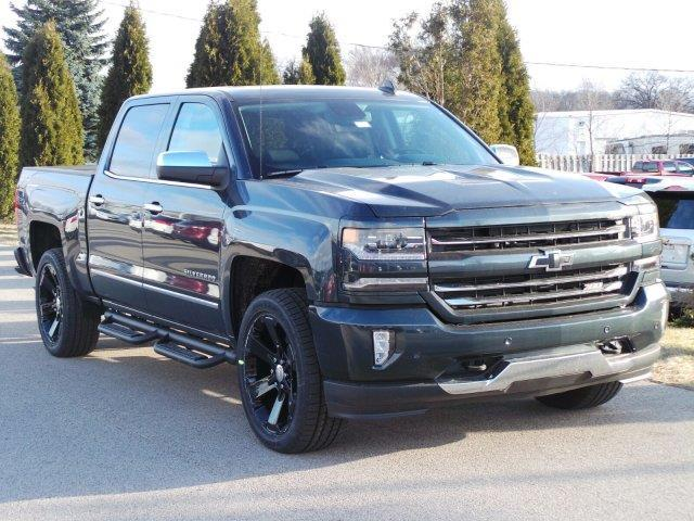 2017 chevrolet silverado 1500 ltz 4x4 ltz 4dr crew cab 5 8 ft sb for sale in meskegon michigan. Black Bedroom Furniture Sets. Home Design Ideas