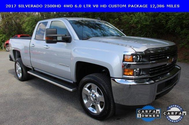 2017 Chevrolet Silverado 2500 4x4 Double Cab For Sale In