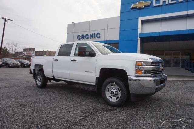 2017 chevrolet silverado 2500hd work truck 4x4 work truck 4dr crew cab sb for sale in griffin. Black Bedroom Furniture Sets. Home Design Ideas