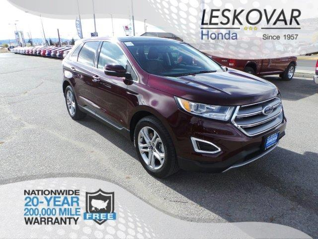 2017 ford edge titanium awd titanium 4dr crossover for sale in butte montana classified. Black Bedroom Furniture Sets. Home Design Ideas