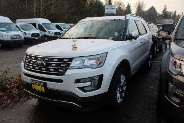 2017 Ford Explorer Limited AWD Limited 4dr SUV