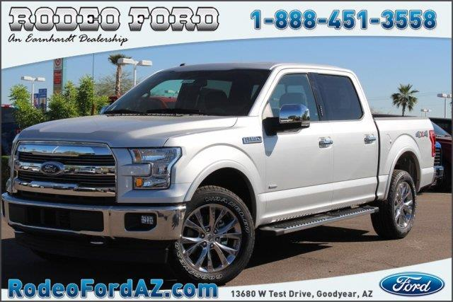 2017 ford f 150 lariat 4x4 lariat 4dr supercrew 5 5 ft sb for sale in goodyear arizona. Black Bedroom Furniture Sets. Home Design Ideas