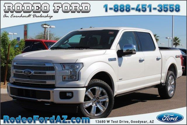 2017 ford f 150 platinum 4x4 platinum 4dr supercrew 5 5 ft sb for sale in goodyear arizona. Black Bedroom Furniture Sets. Home Design Ideas