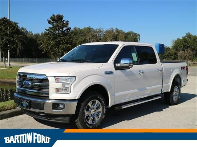 2017 Ford F-150 Platinum 4x4 Platinum 4dr SuperCrew 6.5
