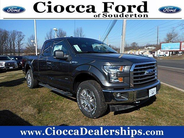2017 ford f 150 xlt 4x4 xlt 4dr supercab 6 5 ft sb for sale in souderton pennsylvania. Black Bedroom Furniture Sets. Home Design Ideas