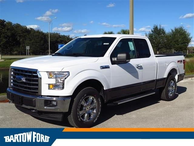 2017 Ford F-150 XLT 4x4 XLT 4dr SuperCab 8 ft. LB
