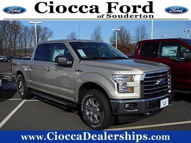 2017 ford f 150 xlt 4x4 xlt 4dr supercrew 5 5 ft sb for sale in souderton pennsylvania. Black Bedroom Furniture Sets. Home Design Ideas