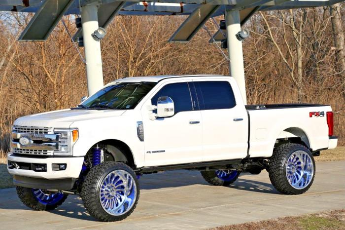 Ford F  Lariat Fxl Powerstroke Turbo