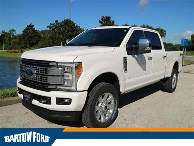 2017 ford f 250 super duty platinum 4x4 platinum 4dr crew cab 8 ft lb pickup for sale in bartow. Black Bedroom Furniture Sets. Home Design Ideas