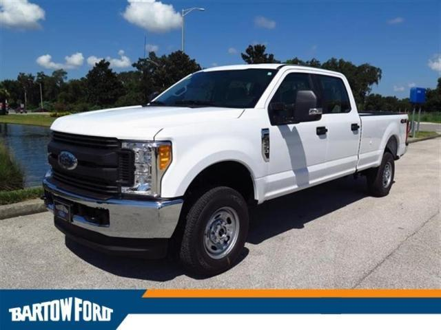 2017 ford f 250 super duty xl 4x4 xl 4dr crew cab 6 8 ft sb pickup for sale in bartow florida. Black Bedroom Furniture Sets. Home Design Ideas