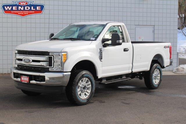 2017 ford f 350 super duty xl 4x4 xl 2dr regular cab 8 ft lb srw pickup for sale in spokane. Black Bedroom Furniture Sets. Home Design Ideas