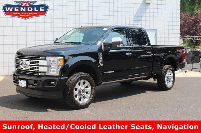 2017 ford f 350 super duty xlt 4x4 xlt 4dr crew cab 8 ft lb srw pickup for sale in spokane. Black Bedroom Furniture Sets. Home Design Ideas