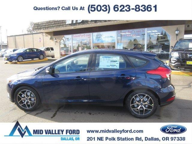 2017 ford focus sel sel 4dr hatchback for sale in dallas. Black Bedroom Furniture Sets. Home Design Ideas