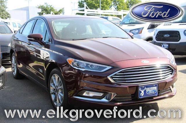 2017 Ford Fusion Energi SE Luxury SE Luxury 4dr Sedan