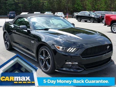 2017 ford mustang gt premium gt premium 2dr convertible for sale in barrett parkway georgia. Black Bedroom Furniture Sets. Home Design Ideas