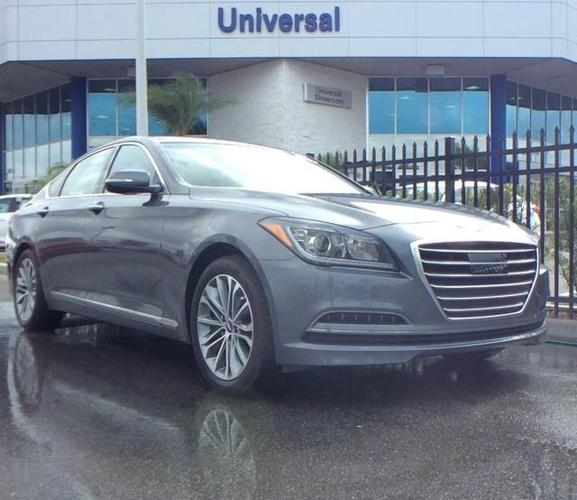Orlando Used Cars For Sale: 2017 Genesis G80 3.8L AWD 3.8L 4dr Sedan For Sale In