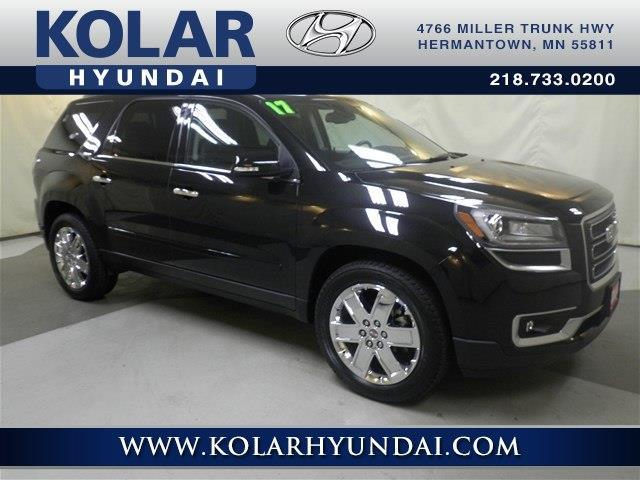 2017 gmc acadia limited base awd base 4dr suv for sale in duluth minnesota classified. Black Bedroom Furniture Sets. Home Design Ideas