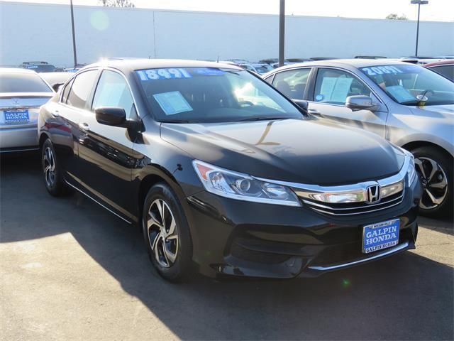 2017 Honda Accord LX LX 4dr Sedan CVT