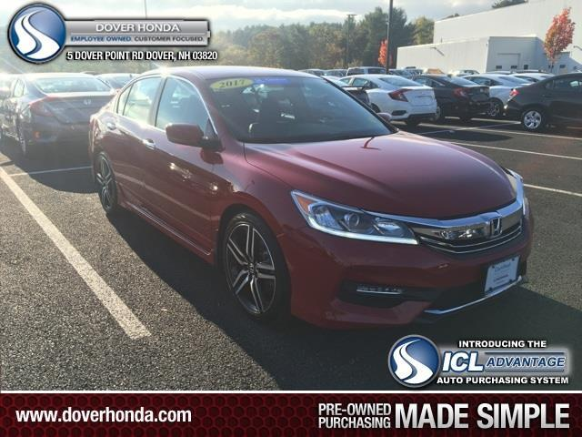 2017 honda accord sport special edition sport special edition 4dr sedan cvt for sale in dover. Black Bedroom Furniture Sets. Home Design Ideas