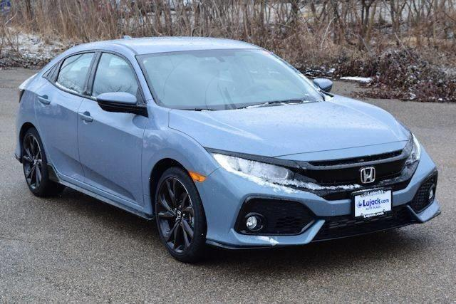 2017 Honda Civic Sport Sport 4dr Hatchback CVT
