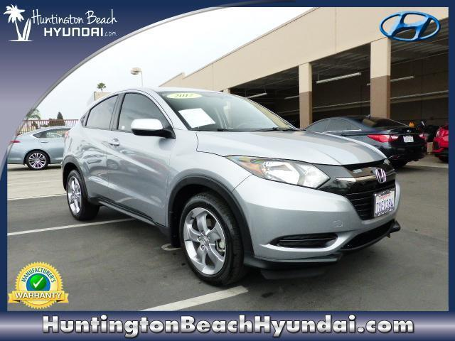 2017 honda hr v lx lx 4dr crossover cvt for sale in huntington beach california classified. Black Bedroom Furniture Sets. Home Design Ideas