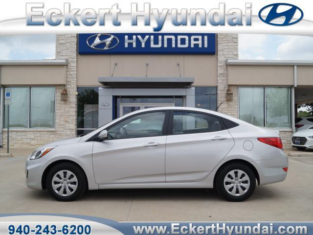 Eckert Hyundai Denton Tx >> 2017 Hyundai Accent SE SE 4dr Sedan 6A for Sale in Denton ...
