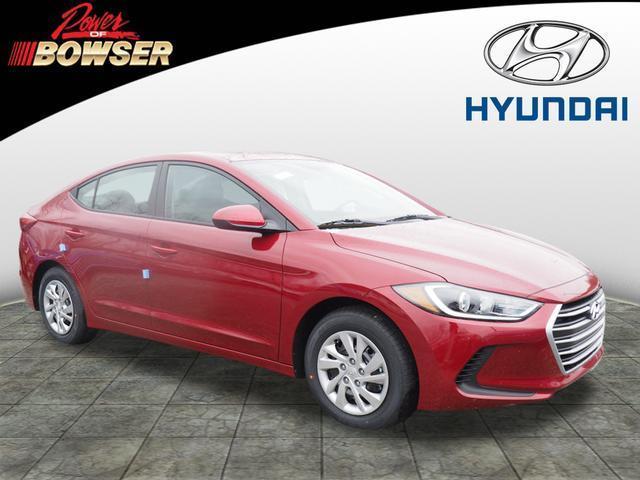 2017 Hyundai Elantra SE SE 4dr Sedan 6M