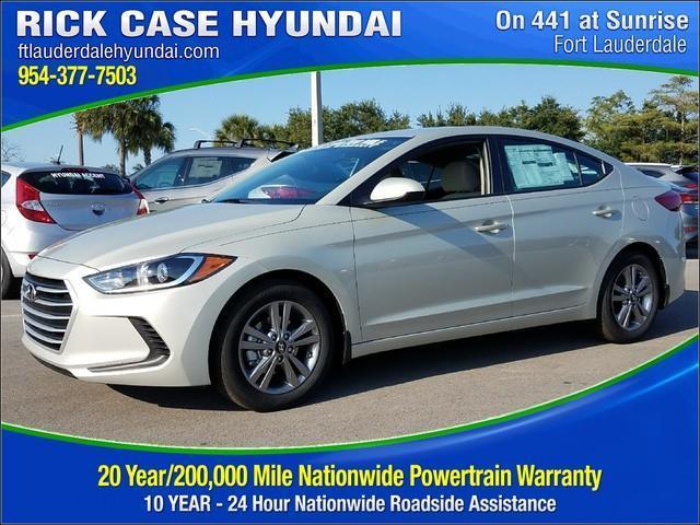 Rick Case Hyundai 20 Year Warranty 2018 Hyundai Elantra Se