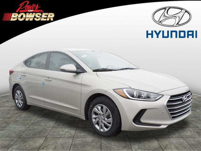 2017 Hyundai Elantra SE SE 4dr Sedan (midyear release)