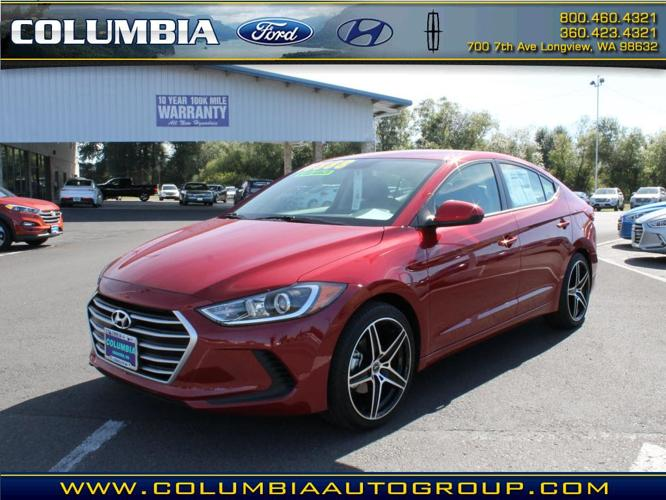 2017 hyundai elantra se se 4dr sedan midyear release for sale in longview washington. Black Bedroom Furniture Sets. Home Design Ideas