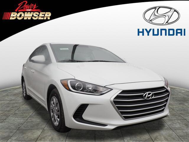 2017 Hyundai Elantra SE SE 4dr Sedan (US midyear
