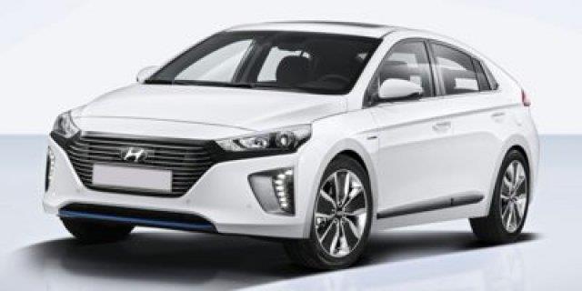 2017 Hyundai Ioniq Hybrid Blue Blue 4dr Hatchback