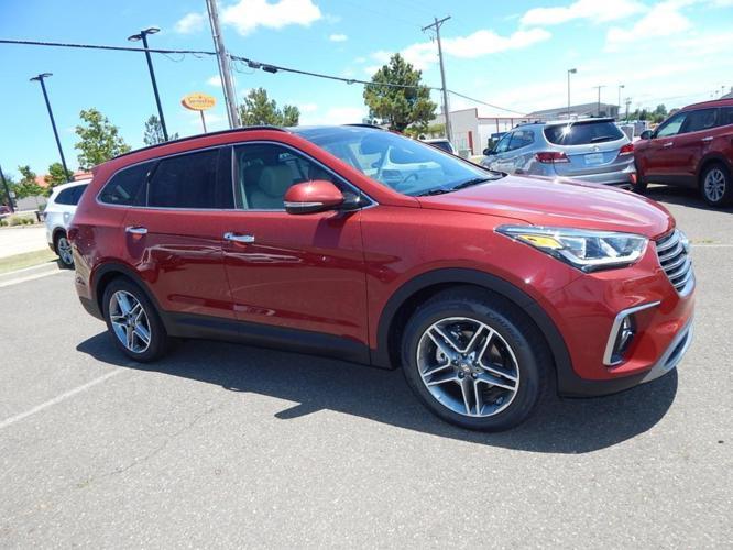 2017 Hyundai Santa Fe Limited Ultimate Limited Ultimate ...