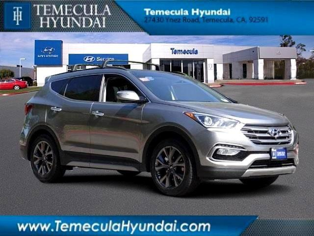 2017 hyundai santa fe sport 2 0t ultimate 2 0t ultimate 4dr suv for sale in rancho california. Black Bedroom Furniture Sets. Home Design Ideas