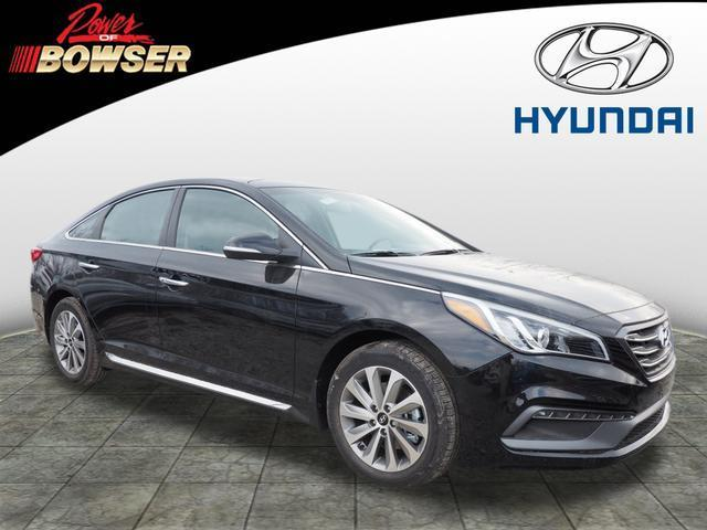 2017 Hyundai Sonata Sport Sport 4dr Sedan PZEV