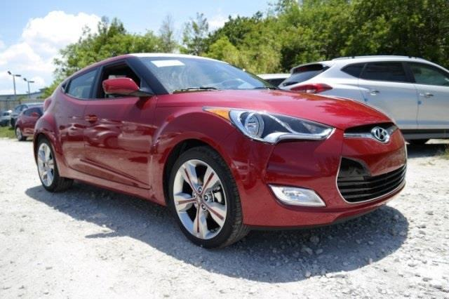 2017 Hyundai Veloster Base 3dr Coupe Dct W Black Seats For
