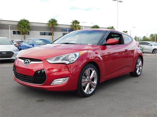 2017 Hyundai Veloster Base 3dr Coupe DCT w/Black Seats