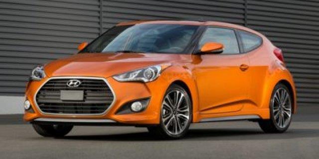 2017 Hyundai Veloster Turbo Base 3dr Coupe DCT w/Orange