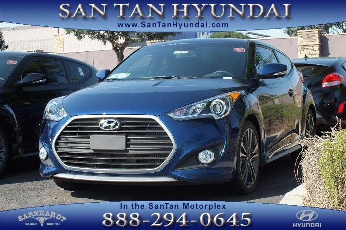 2017 Hyundai Veloster Turbo Base 3dr Coupe DCT w/Orange