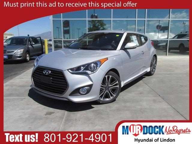 2017 Hyundai Veloster Turbo Base 3dr Coupe Dct W Orange Accent