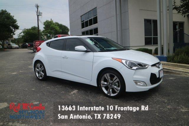 2017 hyundai veloster value edition value edition 3dr coupe for sale in san antonio texas. Black Bedroom Furniture Sets. Home Design Ideas