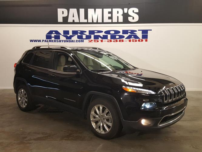 2017 Jeep Cherokee Limited Limited 4dr SUV