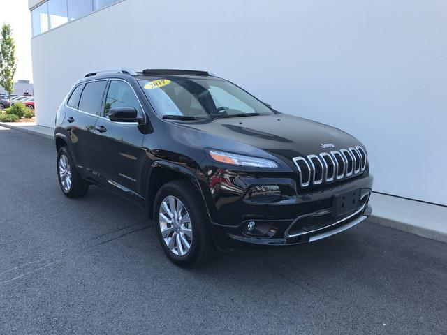 2017 jeep cherokee overland 4x4 overland 4dr suv for sale in hyannis massachusetts classified. Black Bedroom Furniture Sets. Home Design Ideas