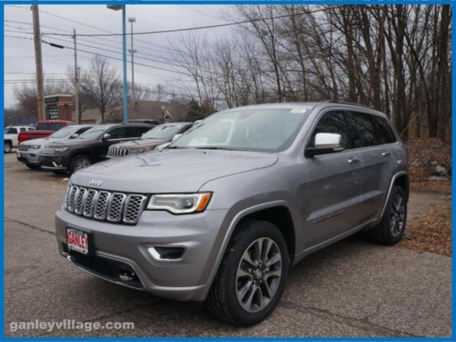 2017 jeep grand cherokee overland 4x4 overland 4dr suv for sale in concord ohio classified. Black Bedroom Furniture Sets. Home Design Ideas